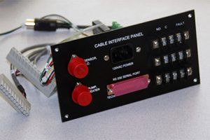 O2 Analyzer Cable Interface Panel